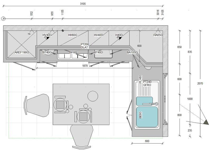 Kuchyn kitchendraw 6 5 n vrh a vizualizace interi ru for Kitchendraw 6 5