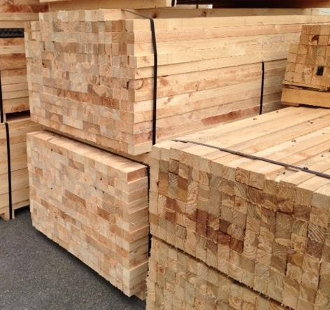 Pallet Elements - Pine and Spruce Wood - Fresh - KD 16%
